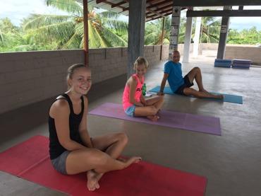 Yoga med familjen!