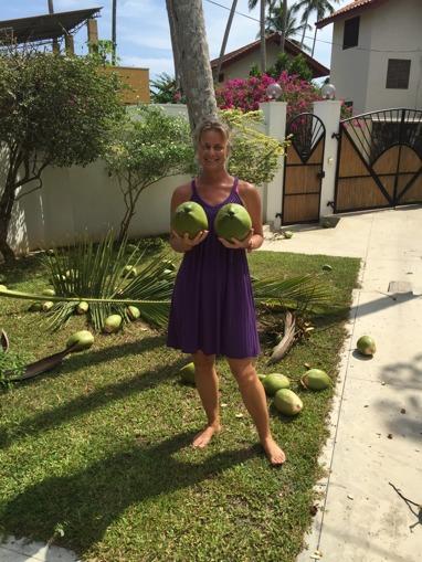 Nu har vi gott om många och STORA kokosnötter!!