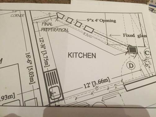 Här har vi hotellets kök!