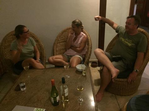 Härliga diskussioner i goda norska vänner lag.. fantastiska Jörn och Charlotte!