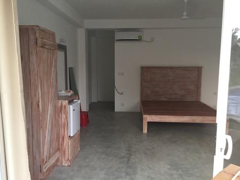 De flesta möbler på plats...nu lite piff;)