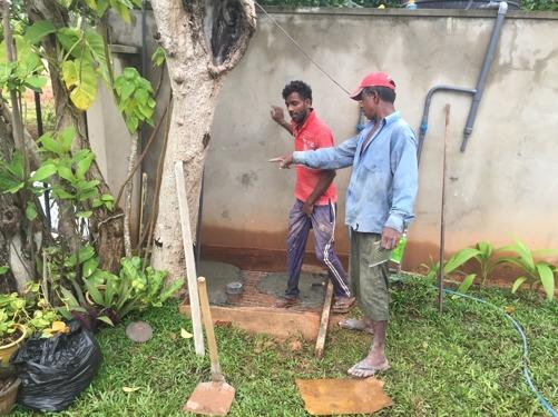 Gjutning av duschplatta