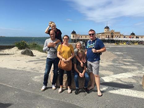 Härliga norska vänner på besök, som vi lärt känna på Sri Lanka.