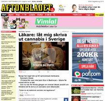 Läkare Låt mig skriva ut cannabis i Sverige
