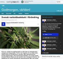 svensk narkotikadebatt i förändring