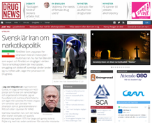 Svensk lär Iran om narkotikapolitik