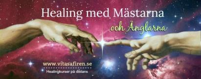"""Klicka på bilden för att komma till """"Healing med Mästarna & Änglarna"""""""