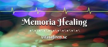 Memoria Healing är en mycket högfrekvent energi som arbetar med sinnet/mentalkroppen