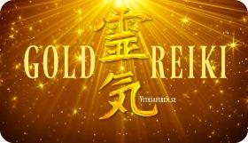 Gold Reiki. Gold Reiki Healing på distans. Healingkurs. Healingutbildning distans. Online kurs Gold Reiki.