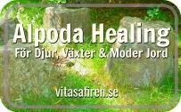 Alpoda Healing har en egen frekvens anpassat till bara djur och växter