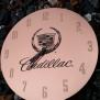 Graverad klocka - Cadillac