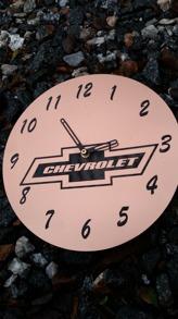 Graverad klocka - Chevrolet