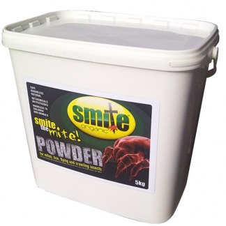 Smite Organic mot löss och kvalster 5 kg pulver - Smite Organic 5 kg