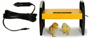 Värmetak Brinsea EcoGlow 20 med adapter för bilen -