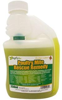 Poultry Mite Rescue Remedy efter angrepp av röda kvalster -