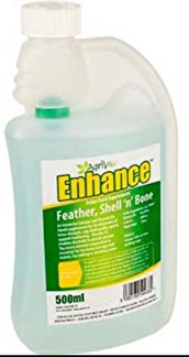 Enhance - fjädrar, skal och ben -
