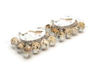 Äggkartonger för vaktelägg 50 st - Äggkartonger för vaktel