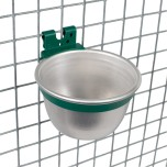 Kopp i aluminium för bur