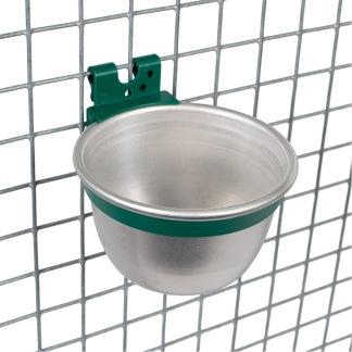 Kopp i aluminium för bur -