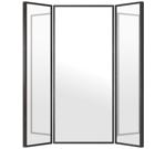Helkroppsspegel 160x160cm