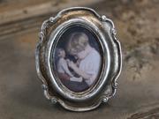 Antik ram, silver