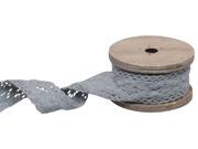 Spetsband grå