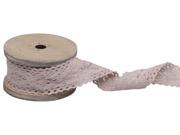 Spetsband rosa