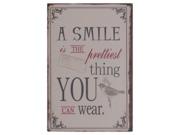 A smile..