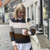 Petite Knit mönster - PetiteKnit Sekvens Sweater (XS-XL)