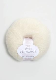 Sandnes Tynn silk mohair - Tynn silk mohair, natur 1012
