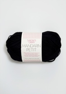 Sandnes Mandarin Petit - Mandarin Petit svart, 1099