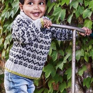 Permin mönster klassisk sweater till små barn i Emma, 893725 - Permin mönster Klassisk sweater till små barn i Emma, 893725