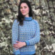 Permin mönster Klassisk sweater till dam i Emma, 893727