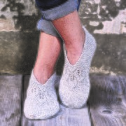 Permin mönster Tofflor med spetsmönster i Emma, 893731