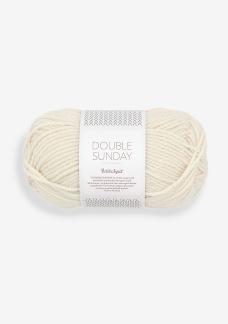 Sandnes Double Sunday - Double Sunday, 1012 whipped cream