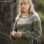 Viking häfte 2128, Alpacca Piccasso Tweed/ Kid Silk