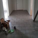 Golvet i hallen