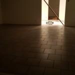 golvet i köket