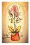 Vykort blomma
