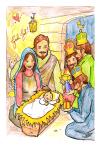 Julkort - Jul i Betlehem 10-pack