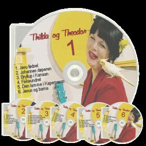 Thilda og Theodor - Hela serien