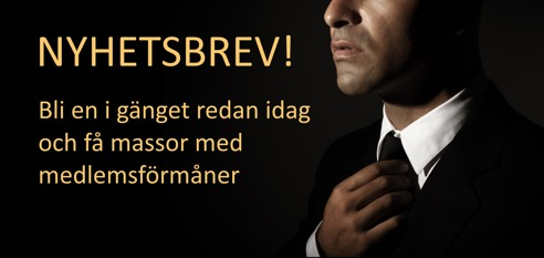 Armband, slips, näsduk, manschettknappar - Nyhetsbrev Lundenstierna Men's Fashion