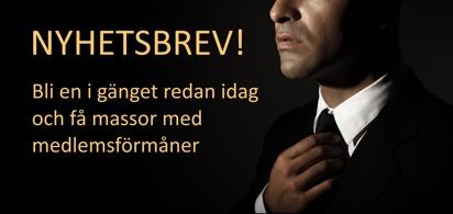 Nyhetsbrev Lundenstierna Men's Fashion - Kavajer skjortor herrmode.