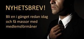 Nyhetsbrev Lundenstierna Men's Fashion