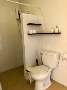 Bathroom/Orange room