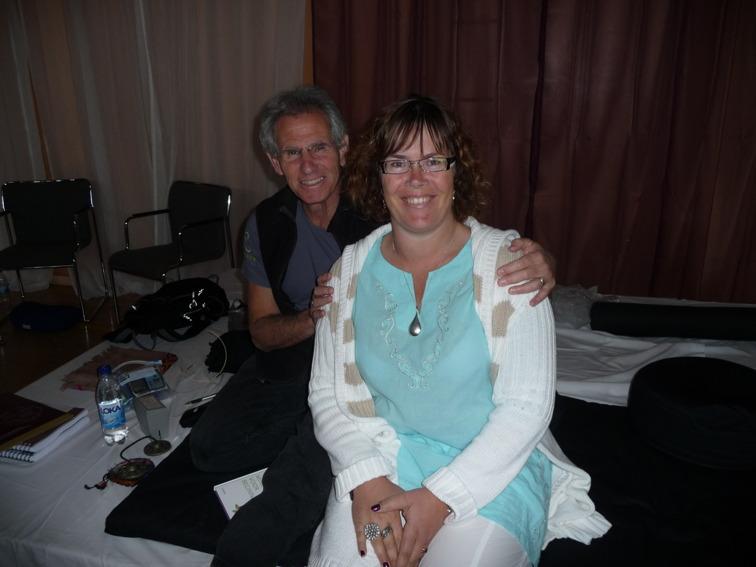 Jon Kabat Zinn och Yvonne Norlén