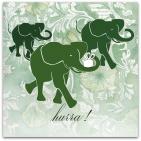 021 gröna elefanter