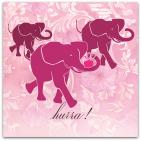 077 rosalila elefanter