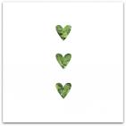 037 3 gröna hjärtan