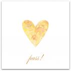 081 litet gult hjärta